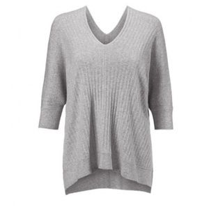 CAbi | Watson Pullover Sweater Spring 2019 Gray S